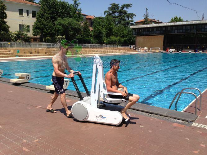 Sollevatori Mobili Per Piscina : Sollevatore per piscina mobile i swim