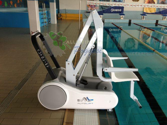 Sollevatore per piscina mobile i swim per immersione - Sollevatore piscina per disabili ...