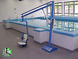 Sollevatori Mobili Per Piscina : Sollevatore per piscina fisso a piastra pavimentale per accesso