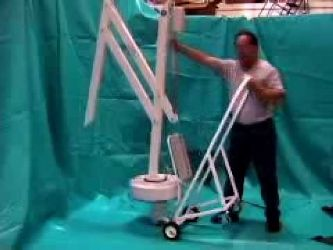 Sollevatori Mobili Per Piscina : Sollevatore semimobile per piscina per disabili con installazione